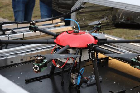 Dronhub' innovations drone