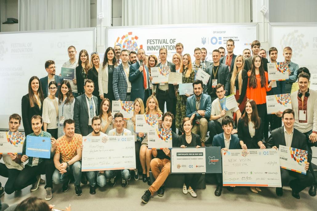 Festival of innovation attendees