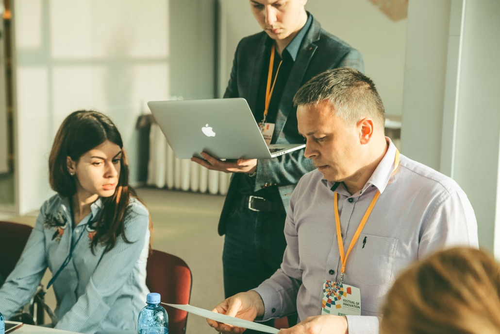 Festival of innovation - jury discussions