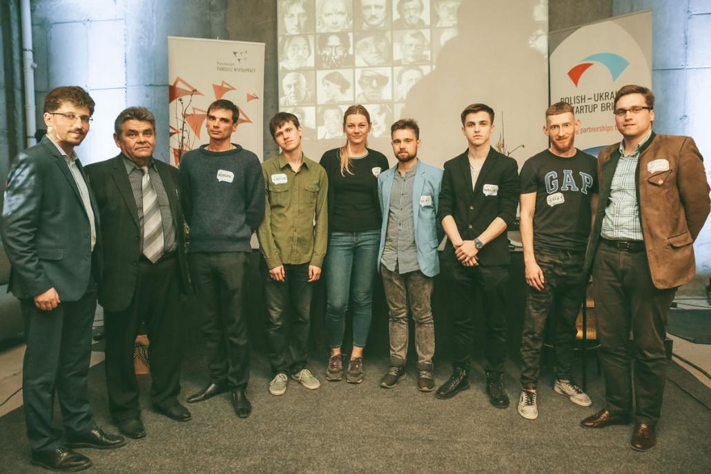 Polish - Ukrainian Startup Bridge meetup attendees