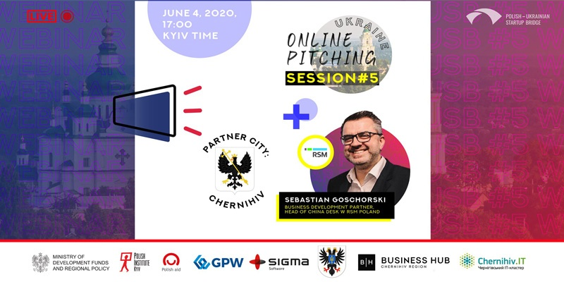 Polish-Ukrainian Startup Bridge meetup in Chernihiv, Ukraine.