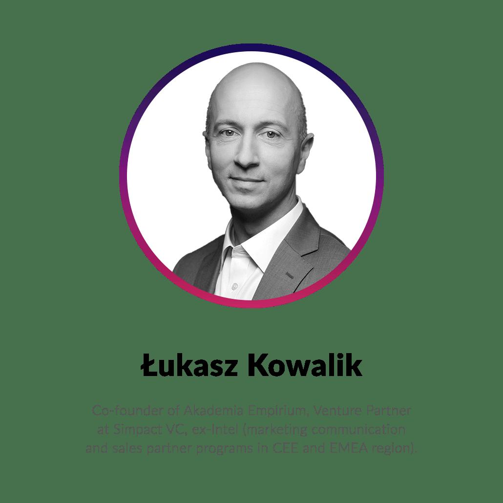Łukasz Kowalik - Polish-Ukrainian Startup Bridge mentor