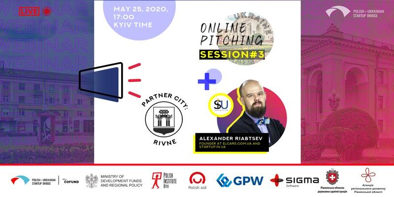 Polish-Ukrainian Startup Bridge meetup in Rivne, Ukraine.