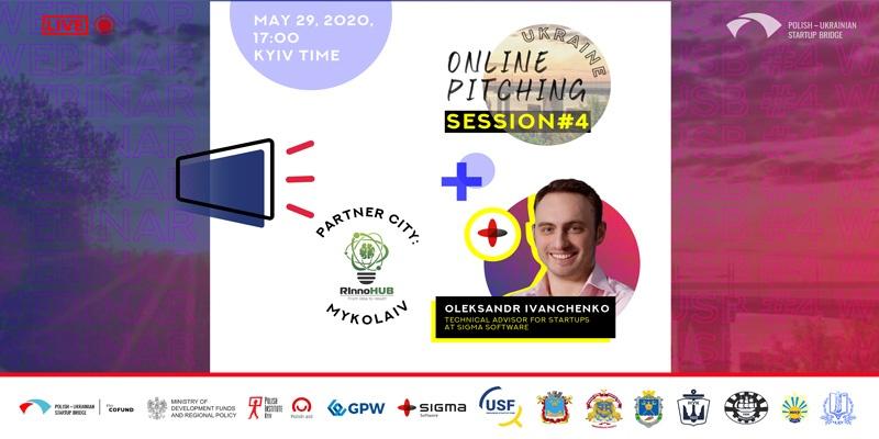Polish-Ukrainian Startup Bridge meetup in Mykolaiv, Ukraine.