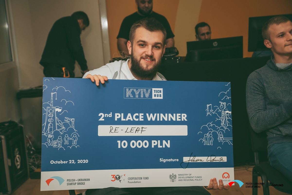 Kyiv Tech Hub 2020 - startup contest winner