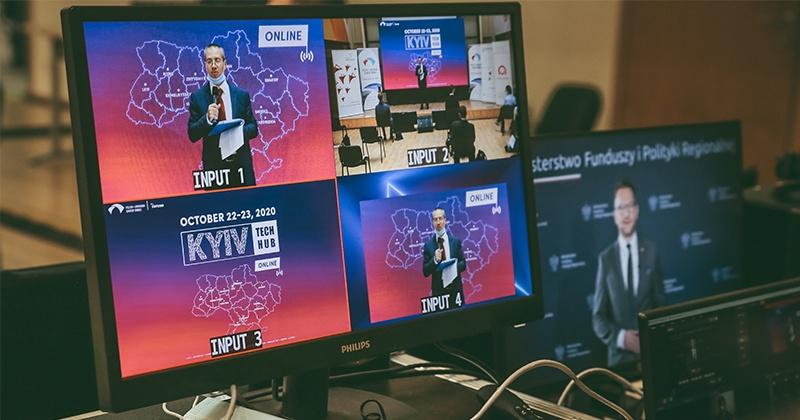 Kyiv Tech Hub 2020 - повітальне слово від Вальдемара Буди - державний секретар в Міністерстві фондів та регіональної політики Польща