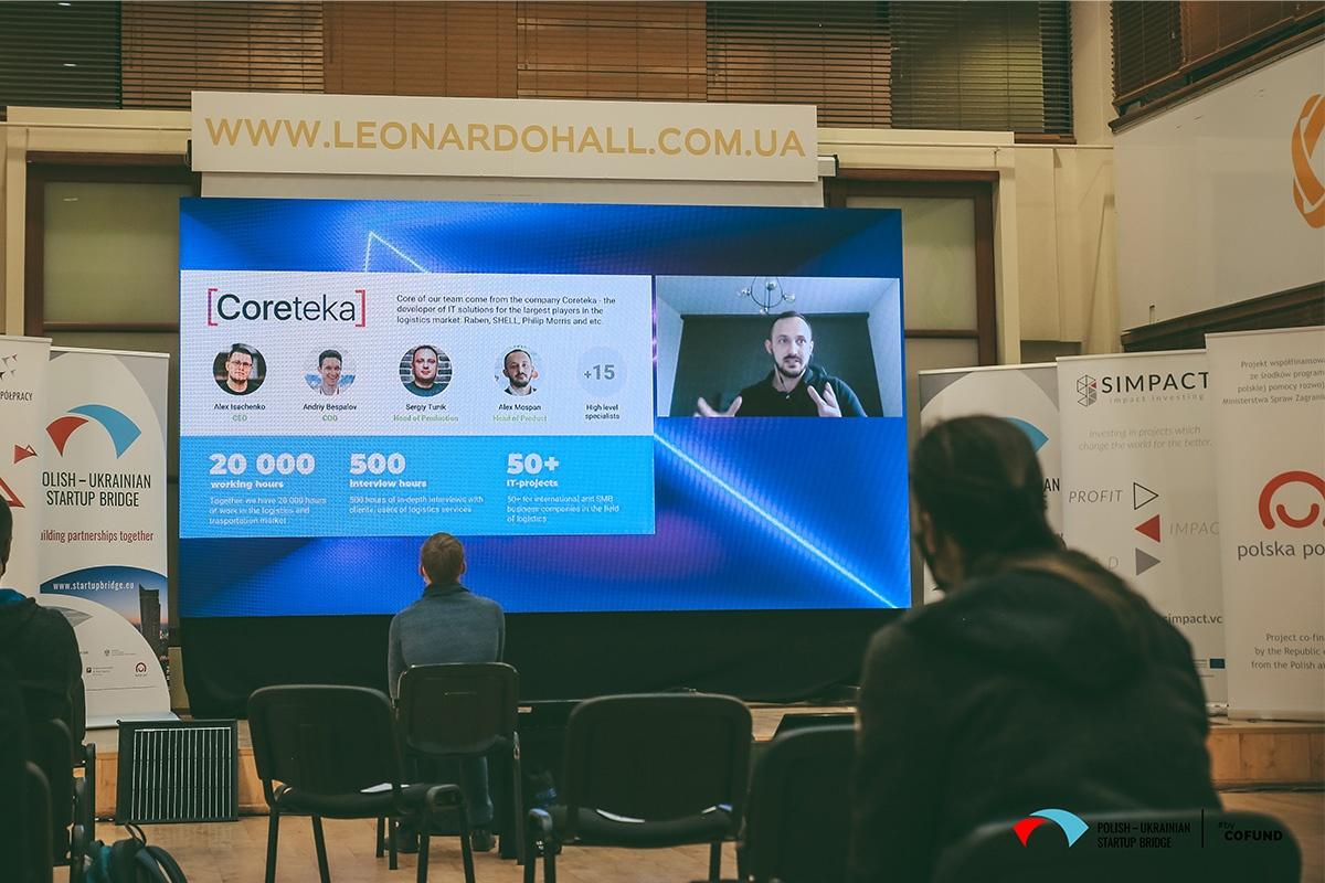 Kyiv Tech Hub 2020 startup contest - WareTeka pitch