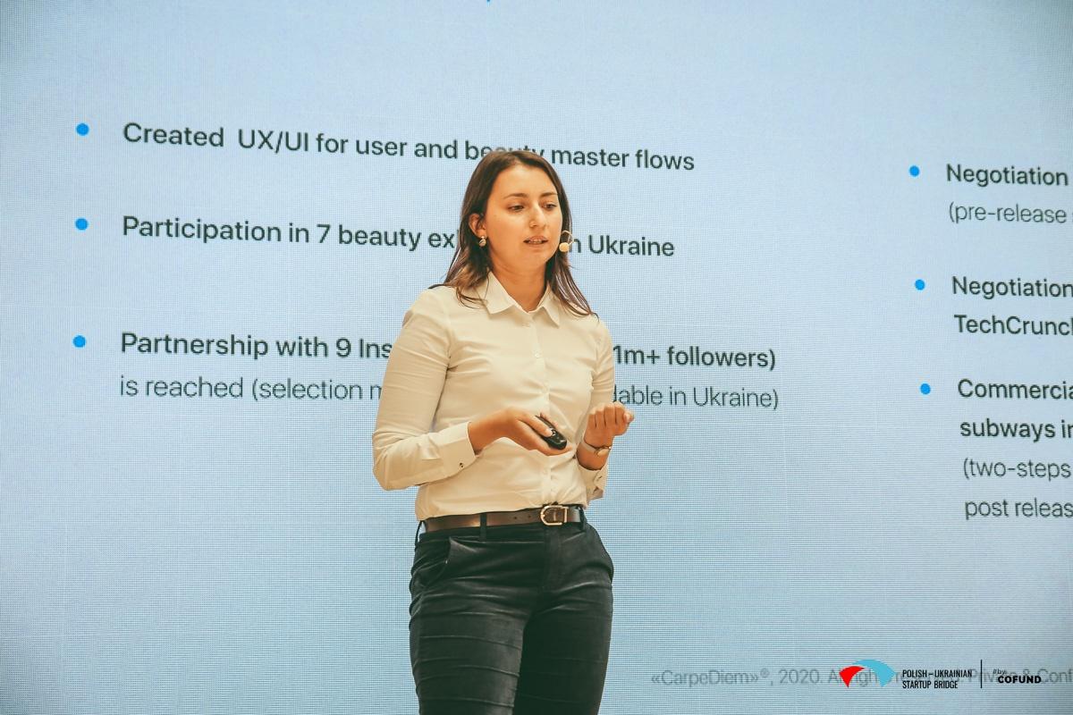 Kyiv Tech Hub 2020 startup contest - CarpeDiem pitch