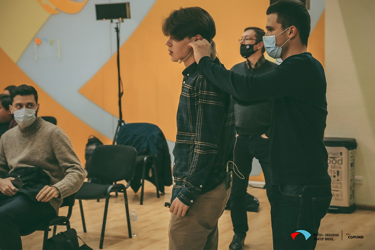 Kyiv Tech Hub 2020 startup contest - Chillinger pitch