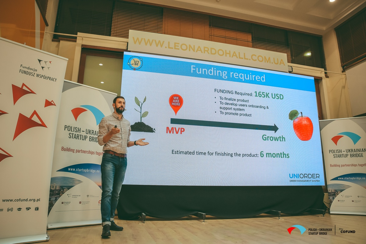 Kyiv Tech Hub 2020 startup contest - Uniorder pitch