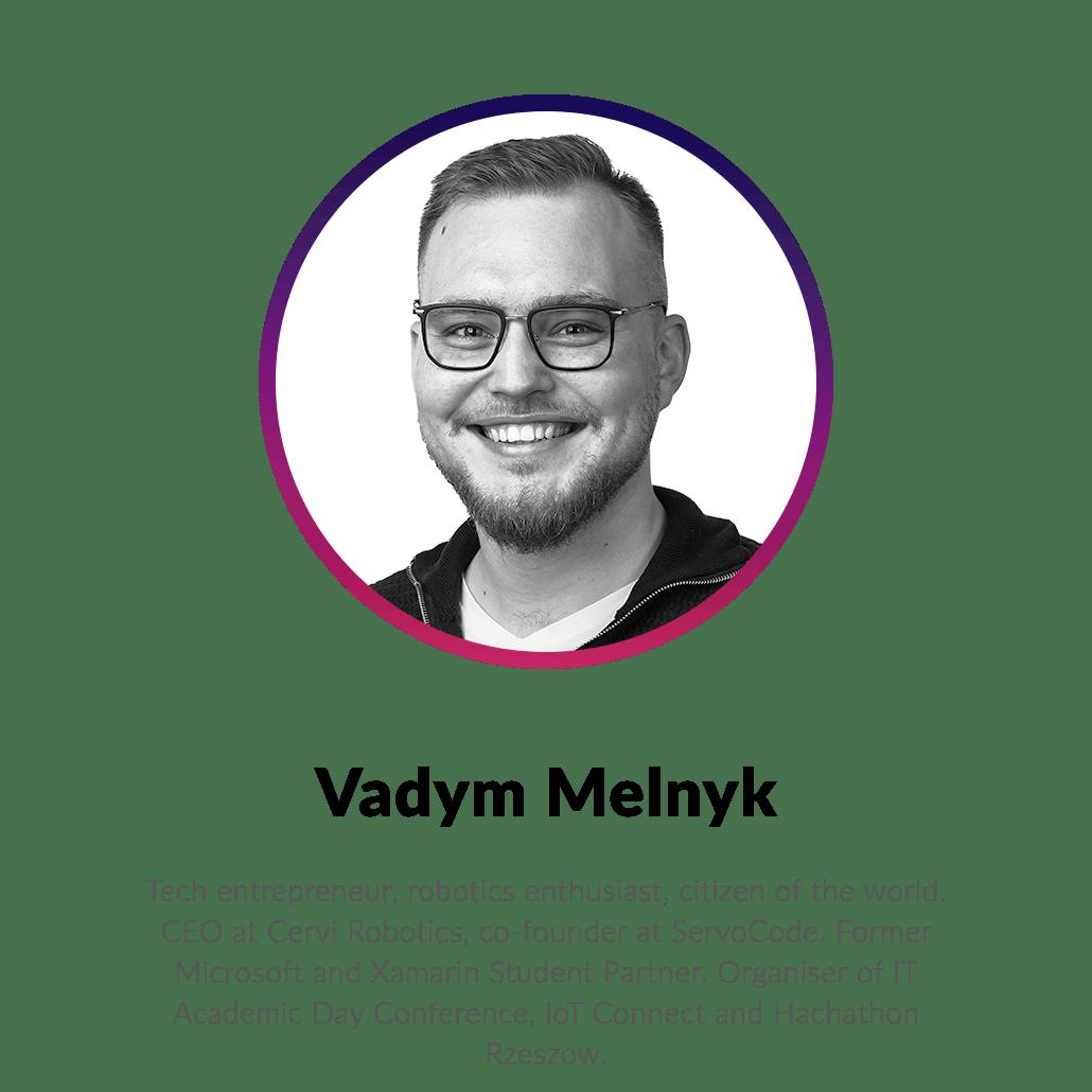 Vadym Melnyk - Kyiv Tech Hub 2020 conference speaker